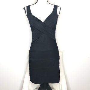 💥 Emerald Sundae Black Bodycon Dress in Sz M